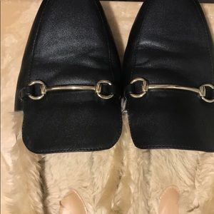 Shoes - Faux Fur Mules
